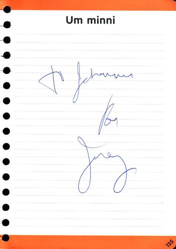 Ron Jeremy autograph