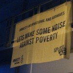 Amnesty International and Airwaves Lets Make Some Noise Against Poverty