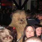 Chewbacca mætti til að hlusta á tónlist